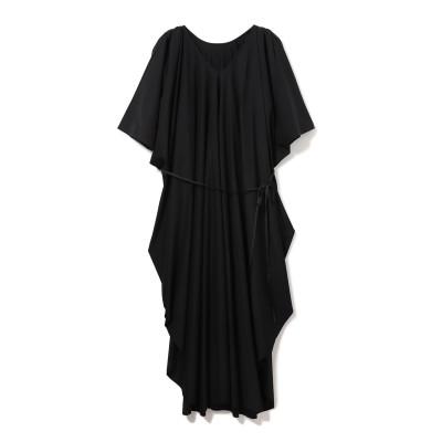Women's Health ウィメンズヘルス ハイゲージドレープドレス【Seagreen】 レディース BLACK 01