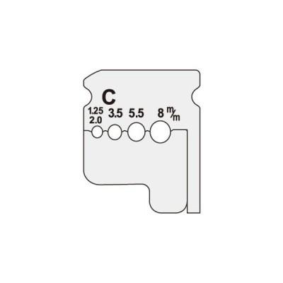 【法人限定】DIV-208KP (DIV208KP) ジェフコム デンサン DENSAN  ワイヤーストリッパー(IV線用替刃)