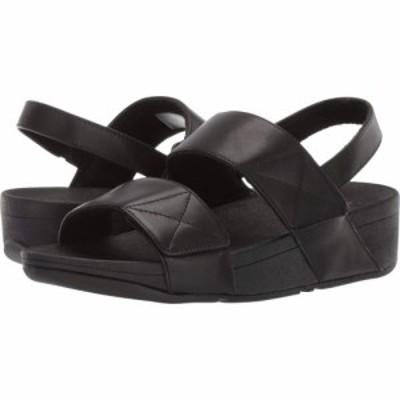 フィットフロップ FitFlop レディース サンダル・ミュール シューズ・靴 Mina Back-Strap All Black