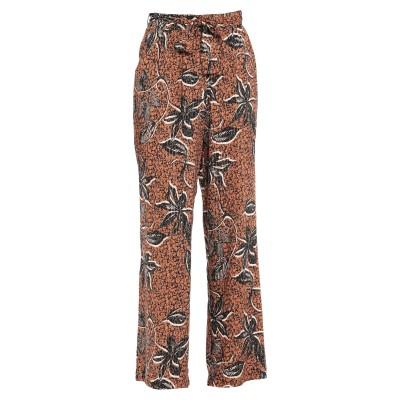 ディアナ ガッレージ DIANA GALLESI パンツ ブラウン 40 レーヨン 98% / 金属繊維 2% パンツ