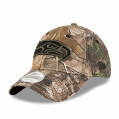 New Era ニュー エラ スポーツ用品  New Era Seattle Seahawks Realtree Camo 9TWENTY Adjustable Hat