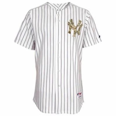 Majestic マジェスティック スポーツ用品  Majestic New York Yankees White USMC Team Jersey