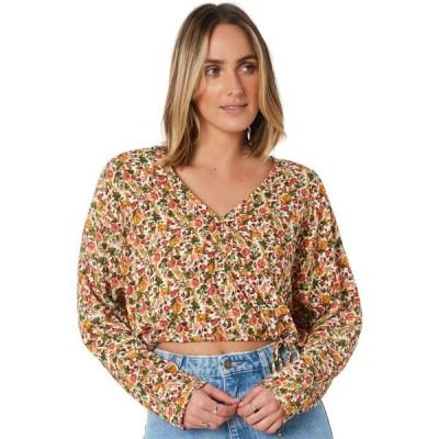 ミンクピンク Minkpink レディース ベアトップ・チューブトップ・クロップド トップス charlise dolman sleeve blouse Multi