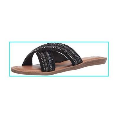 Fergie レディース Starlit ソングサンダル US サイズ: 12 カラー: ブラック