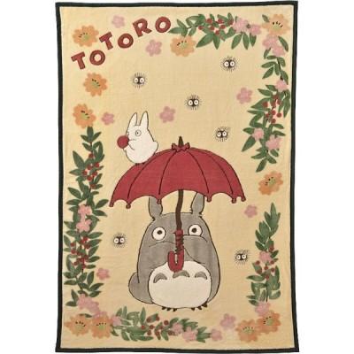 となりのトトロ 花降るトトロハーフ毛布[B5] ギフト ギフトセット お祝い 贈答品 内祝