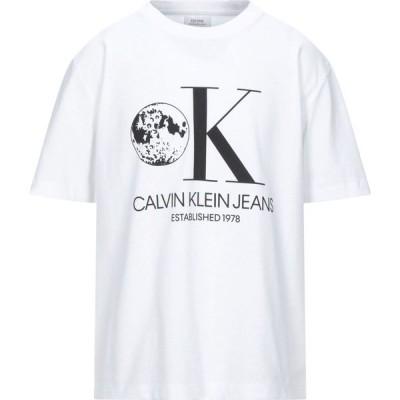 カルバンクライン CALVIN KLEIN JEANS メンズ Tシャツ トップス t-shirt White