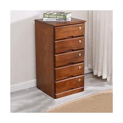 新品QNN Storage Drawer Units,Storage Cabinet Locker File Cabinets Sundries Cabinet with Locks and Drawers Nordic 5 Floor Solid Wood Bedroo