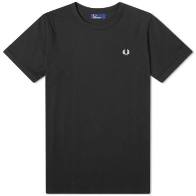 フレッドペリー Fred Perry Authentic メンズ Tシャツ トップス fred perry ringer tee Black