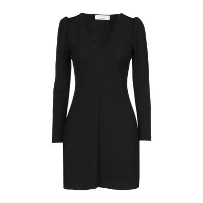 カオス KAOS ミニワンピース&ドレス ブラック 40 ポリエステル 95% / ポリウレタン 5% ミニワンピース&ドレス