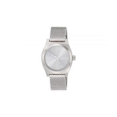 Nixon ニクソン レディース 女性用 腕時計 ウォッチ ファッション時計 Medium Time Teller Milanese - All Silver