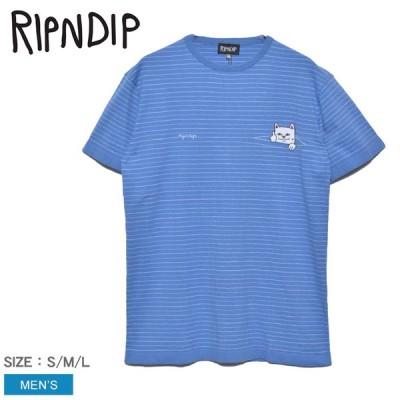 (ゆうパケット可)リップンディップ 半袖Tシャツ メンズ