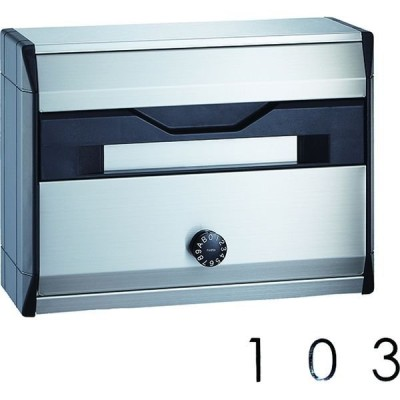 ナスタナスタ ポスト KS-MB621S-L 1台+ルームナンバー 103 1枚 KS-MB621S-L+KS-NCY-3-B 103 1セット(直送品)