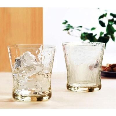 東洋佐々木ガラス タンブラー ブラウン 約330ml 琥珀 ペアタンブラー 日本製 G540-T83 2個入