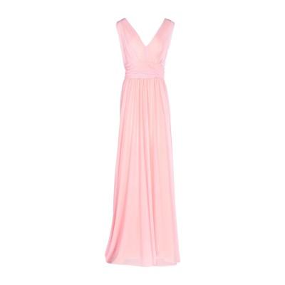 COMPAGNIA ITALIANA ロングワンピース&ドレス ピンク 46 94% ナイロン 6% ゴム ロングワンピース&ドレス