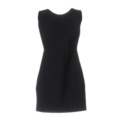 ANTHONY VACCARELLO NOIR ミニワンピース&ドレス ブラック 38 ナイロン 72% / ポリウレタン 28% ミニワンピース&