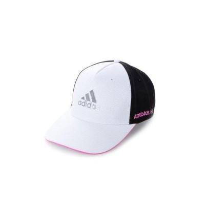 アディダス adidas メンズ ゴルフ キャップ メタルロゴキャップ GL8842 (ホワイト)