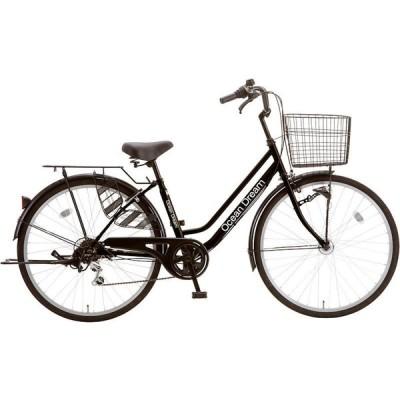 シティサイクル シオノ オーシャンドリーム 26 外装6段 オートライト (ピアノブラック) 2021 SHIONO OCEAN DREAM 266 塩野自転車