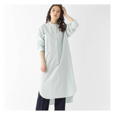 【ドレステリア/DRESSTERIOR 】 【2WAY/洗える】オーガニックコットンシャツドレス