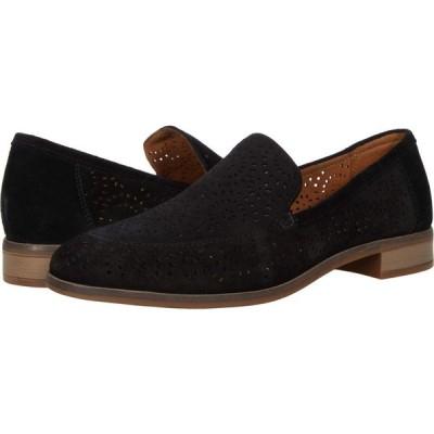 クラークス Clarks レディース ローファー・オックスフォード シューズ・靴 Trish Calla Black Suede