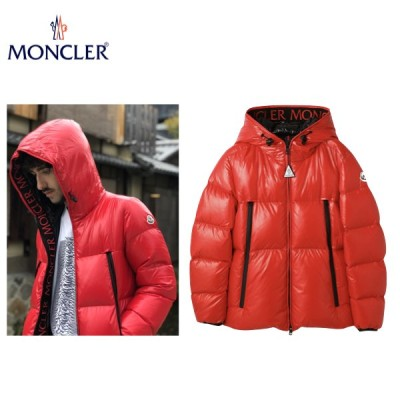 MONCLER BARONNIES Down Jacket Outer 2020AW  モンクレール バロニーズ メンズ レッド ダウン ジャケット アウター 2020-2021年秋冬