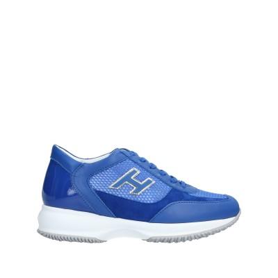 ホーガン HOGAN スニーカー&テニスシューズ(ローカット) ブルー 35 革 / 紡績繊維 スニーカー&テニスシューズ(ローカット)