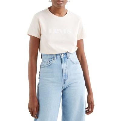 リーバイス Levi's レディース Tシャツ トップス the perfect short sleeve t-shirt New Logo Scallop Shell