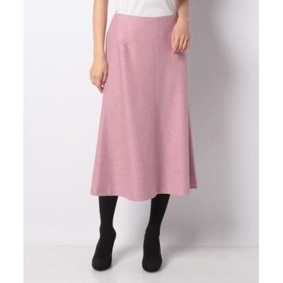 LAPINE BLANCHE/ラピーヌ ブランシュ 圧縮天竺スカート ピンク 40
