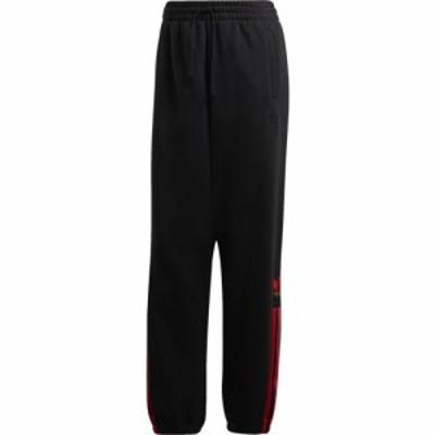 アディダス adidas Originals レディース ボトムス・パンツ 3D Trefoil 3 Stripe Cuffed Pant Black/Multi