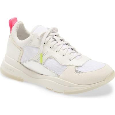 テッドベーカー TED BAKER LONDON レディース スニーカー シューズ・靴 Winnslo Sneaker White Leather/Fabric