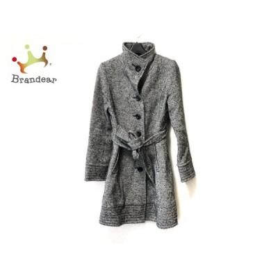 メイソングレイ MAYSON GREY コート サイズ1 S レディース 黒×白 冬物     スペシャル特価 20201203