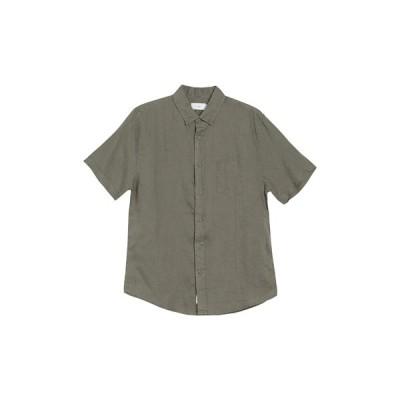 オニア メンズ シャツ トップス Jack Linen Shirt DEEP SAGE