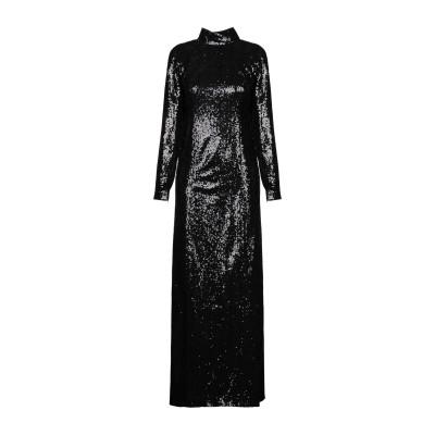 IN THE MOOD FOR LOVE ロングワンピース&ドレス ブラック XS ポリエステル 100% ロングワンピース&ドレス