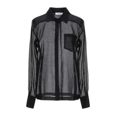 マウロ グリフォーニ MAURO GRIFONI シャツ ブラック 40 コットン 100% シャツ