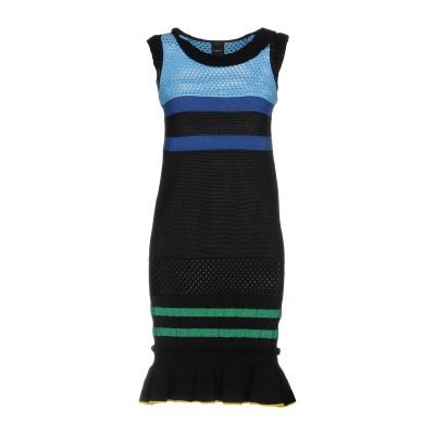 ピンコ PINKO ミニワンピース&ドレス ブラック M 64% レーヨン 36% ナイロン ミニワンピース&ドレス
