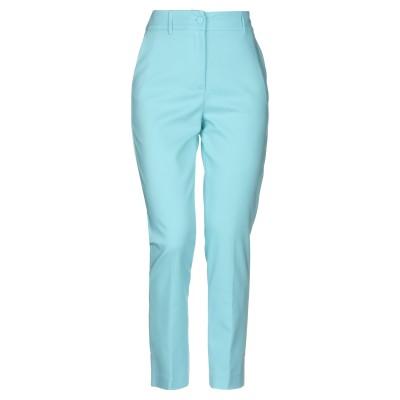 ブルマリン BLUMARINE パンツ ターコイズブルー 40 コットン 60% / ポリエステル 37% / ポリウレタン 3% パンツ