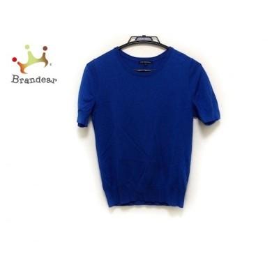 ニジュウサンク 23区 半袖セーター サイズ38 M レディース ブルー   スペシャル特価 20210107