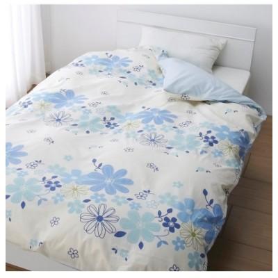 日本製綿100%選べる柄掛けカバー(リーフ。ドット。フラワー) 掛け布団カバー, Bedding Duvet Covers(ニッセン、nissen)