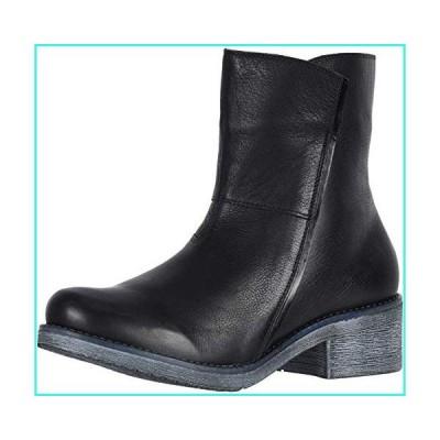 【新品】NAOT Footwear Women's Hipster Boot Soft Black Lthr/Black Madras Lthr 8 M US(並行輸入品)