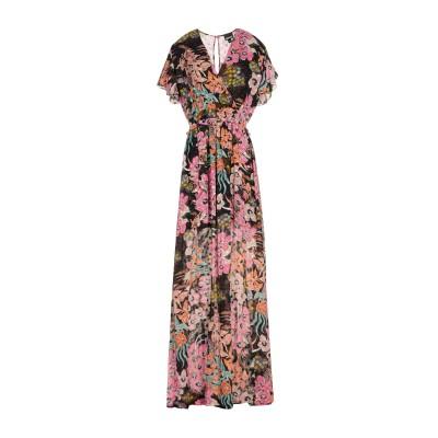 ジャストカヴァリ JUST CAVALLI ロングワンピース&ドレス フューシャ 38 レーヨン 100% ロングワンピース&ドレス