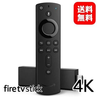 4K Amazon Fire TV Stick 4K  アマゾン ファイヤースティックTV Alexa対応 音声認識リモコン付属