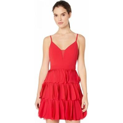 ビーシービージーマックスアズリア BCBGMAXAZRIA レディース ワンピース ワンピース・ドレス Eve Short Woven Dress Rio Red