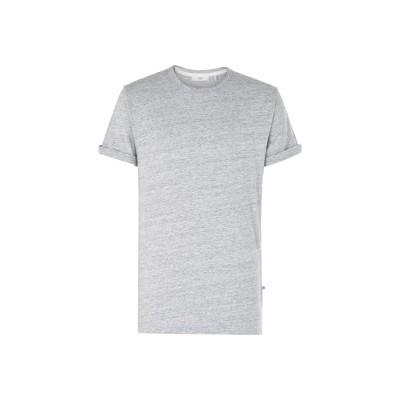 MINIMUM T シャツ ライトグレー S コットン 100% T シャツ
