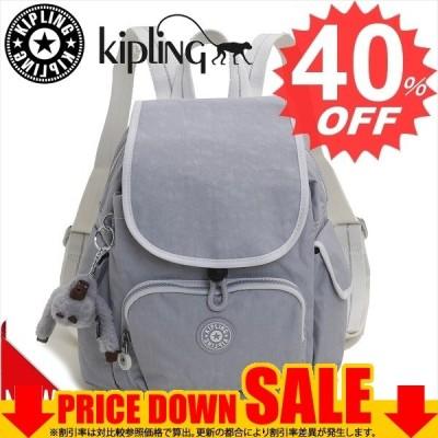 キプリング バッグ リュック・バックパック Kipling CITY PACK MINI KI2670  21P ACTIVE GREY BL    比較対照価格14,850 円