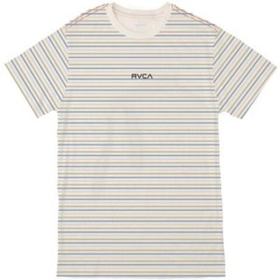 ルーカ メンズ シャツ トップス Ruff Stripe T-Shirt - Men's Antique White