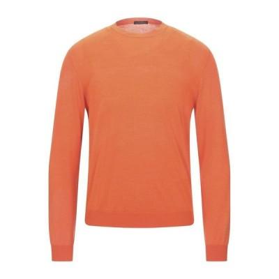 BALLANTYNE プルオーバー  メンズファッション  トップス  ベスト、ジレ  プルオーバー オレンジ