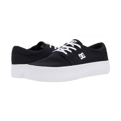 DC ディーシー レディース 女性用 シューズ 靴 スニーカー 運動靴 Trase Platform - Black/White
