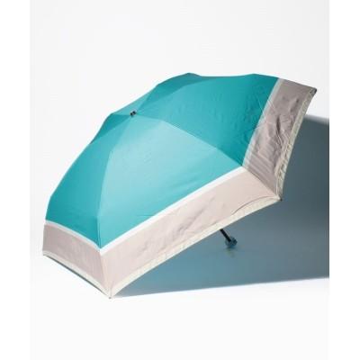 【ムーンバット】 FURLA(フルラ)折りたたみ傘  レディース サックスブルー メーカー指定サイズ MOONBAT