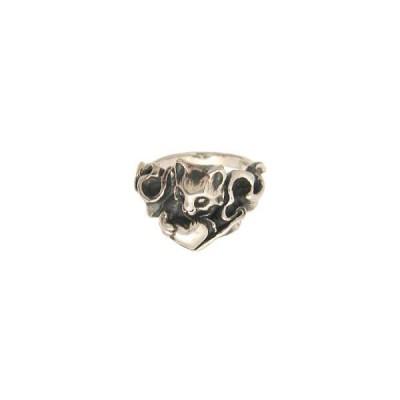 ノラ/のら(NORA) ユイネコシルバーリング(指輪)