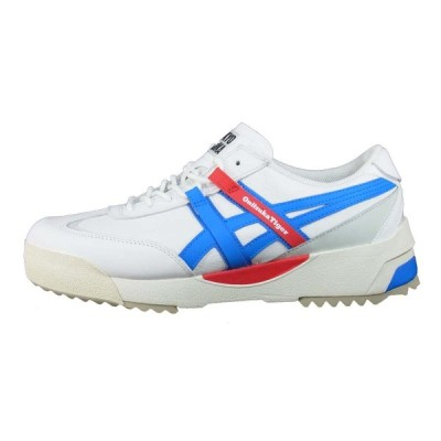 ONITSUKA TIGER オニツカタイガー 20SS 1183A559 DELEGATION EX デレゲーション WHITE/ELECTRICBLUE US9【新古品】【未使用】【中古】