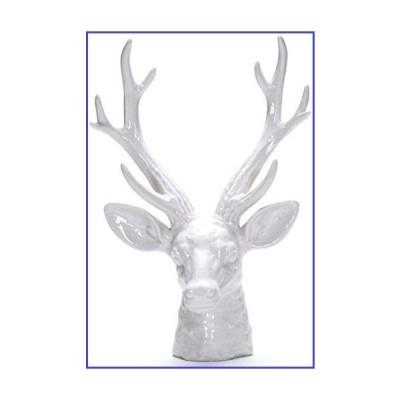 Sculptures Statue Ornaments Ornaments Statues Modern Ceramics Art Lucky Deer Head Statue Animals Figurine Ceramics Crafts Home Decoration Ac